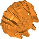LEGO Orange Giant Wheel with Pin Holes and Spokes (64712)