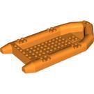LEGO Orange Large Dinghy 22 x 10 x 3 (62812)