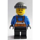 LEGO Orange Overalls Minifigure