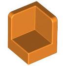 LEGO Orange Panel 1 x 1 x 1 Corner with Rounded Corners (6231)