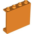 LEGO Orange Panel 1 x 4 x 3 with Side Supports, Hollow Studs (60581)