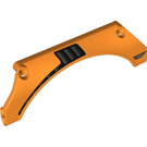 LEGO Orange Panel Wheel Arch 5 x 15 x 2 with 4.85 (26531)
