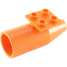 LEGO Orange Plane Jet Engine (4868)