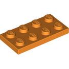 LEGO Orange Plate 2 x 4 (3020)