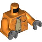 LEGO Orange Ponda Baba Torso (76382)