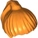 LEGO Orange Ponytail Hair (6093)