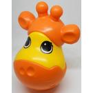 LEGO Orange Primo Stacking Head Giraffe