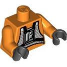 LEGO Orange Rebel Pilot Torso (76382)