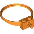 LEGO Orange Ring / Hoop with Axle (43373)