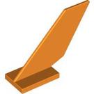 LEGO Orange Shuttle Tail 2 x 6 x 4 (6239)