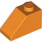 LEGO Orange Slope 1 x 2 (45°) (3040)