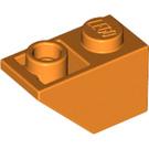 LEGO Orange Slope 1 x 2 (45°) Inverted (3665)