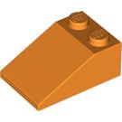 LEGO Orange Slope 2 x 3 (25°) with Rough Surface (3298)