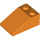LEGO Orange Slope 25° (33) 2 x 3 with Rough Surface (3298)