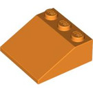 LEGO Orange Slope 25° (33) 3 x 3 (4161)