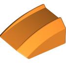 LEGO Orange Slope Curved Top 2 x 2 x 1 (30602)