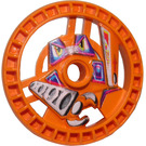 LEGO Orange Talisman Ø 36,8 Claw (32363)