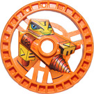 LEGO Orange Technic Disk 5 x 5 (Driller) (32355)