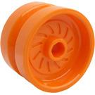 LEGO Orange Wheel 18 x 12mm with Etched Rim (18976 / 65192)