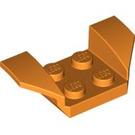 LEGO Orange Wheel Arch 2 x 4 (41854)