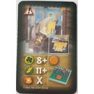 LEGO Orient Card Hazards - Johnny Thunder Falling