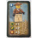 LEGO Orient Expedition Card Heroes - Johnny Thunder (Mount Everest)