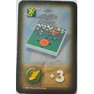 LEGO Orient Expedition Card Items - Mountain Map