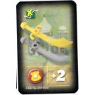 LEGO Orient Expedition Card Items - Scimitars
