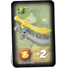 LEGO Orient Expedition Game Card- Scimitars