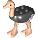 LEGO Ostrich with White Wingtips (24689 / 89360)