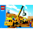 LEGO Outrigger Construction Crane Set 4668 Instructions