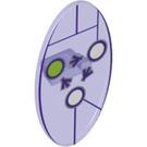 LEGO Oval Shield with Keystone and Flow Arrows (23719 / 34929)