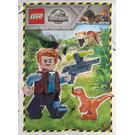LEGO Owen with Baby Raptor Set 121904