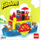LEGO Paddle Steamer Set 3673 Instructions