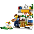 LEGO Painting Easter Eggs Set 40121