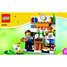 LEGO Painting Easter Eggs Set 40121 Instructions