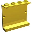 LEGO Panel 1 x 4 x 3 (Undetermined) (Undetermined Top Studs) (4215)