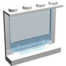LEGO Panel 1 x 4 x 3 with Glass (6156)