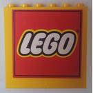 LEGO Panel 1 x 6 x 5, Stickered 'LEGO' (59349)