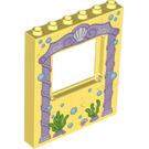 LEGO Panel 1 x 6 x 6 with Window Cutout with Purple arch way (15627 / 24814)