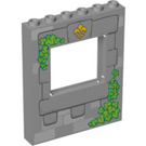LEGO Panel 1 x 6 x 6 with Window Cutout with Stone window right and top left (15627 / 17697)