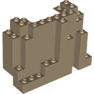 LEGO Panel 4 x 10 x 6 Rock Rectangular (6082)