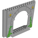 LEGO Panel 4 x 16 x 10 with Gate Hole with Decoration (15626 / 18981)