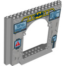 LEGO Panel 4 x 16 x 10 with Gate Hole with Decoration (16715)