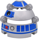 LEGO Panel Dome 6 x 6 x 5 2/3 with R2-D2 Head & Eye Decoration from Set 9748