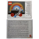 LEGO Paper 4.5V Motor Guarentee Card