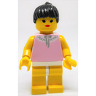 LEGO Paradisa Female with Pink Top and Lace Collar Minifigure