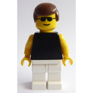 LEGO Paradisa Male with Sunglasses, Black Top and White Legs Minifigure
