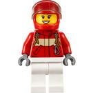 LEGO Paramedic Pilot Female Minifigure