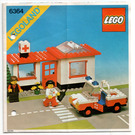 LEGO Paramedic Unit Set 6364 Instructions